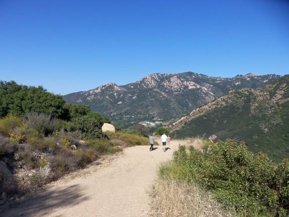 Tapia Hike between Pepperdine & Malibu Creek State Park