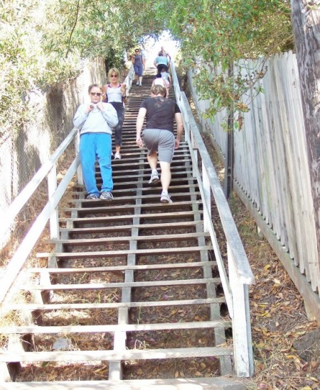 The 4th St. Stairs; Channel Rd., just east of PCH.