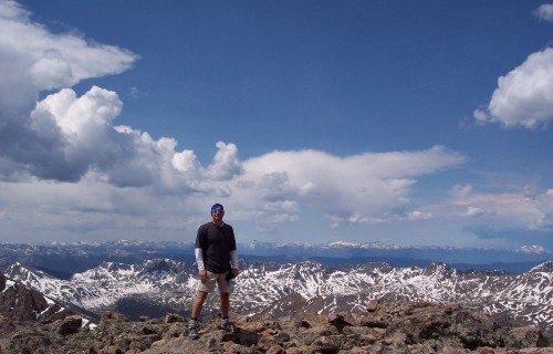 Summit of Mt. of the Holy Cross; Vail,CO